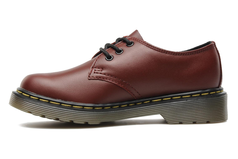 Chaussures à lacets Dr. Martens Lace shoe juniors Bordeaux vue face