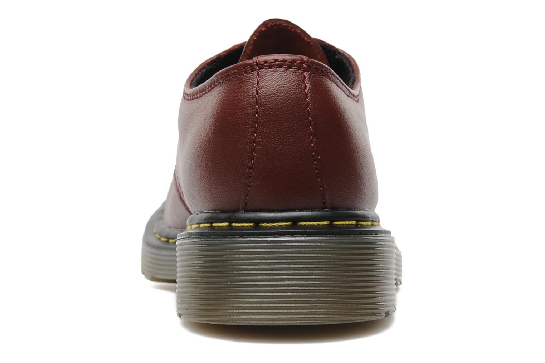 Chaussures à lacets Dr. Martens Lace shoe juniors Bordeaux vue droite