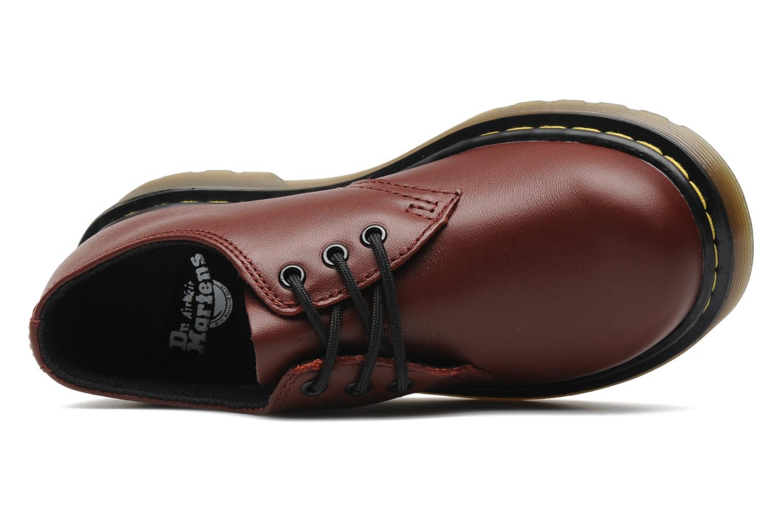 Chaussures à lacets Dr. Martens Lace shoe juniors Bordeaux vue gauche