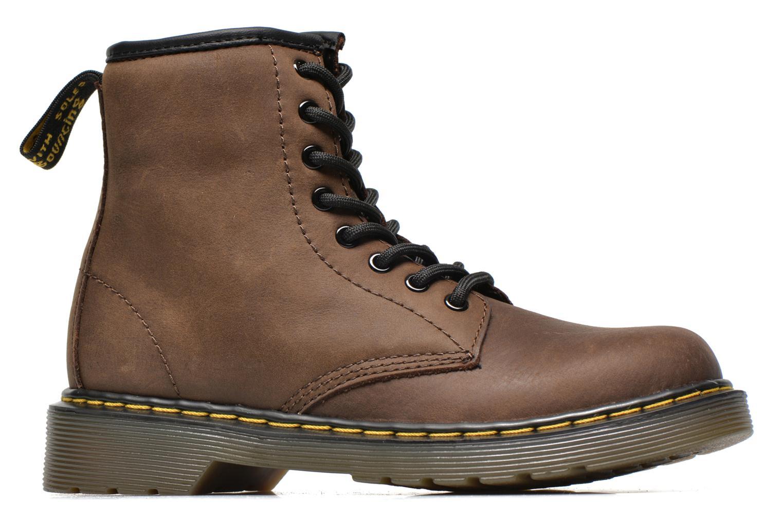 Stiefeletten & Boots Dr. Martens Juniors Delaney Lace boot braun ansicht von hinten