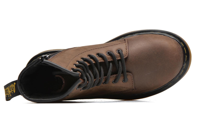 Ankelstøvler Dr. Martens Juniors Delaney Lace boot Brun se fra venstre