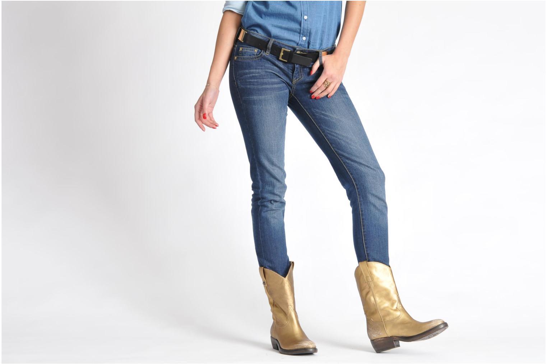 Stiefeletten & Boots Catarina Martins Vendit LE2026L silber ansicht von unten / tasche getragen