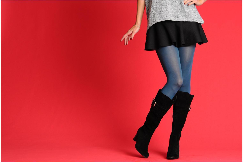 Stiefel Georgia Rose Vima schwarz ansicht von unten / tasche getragen