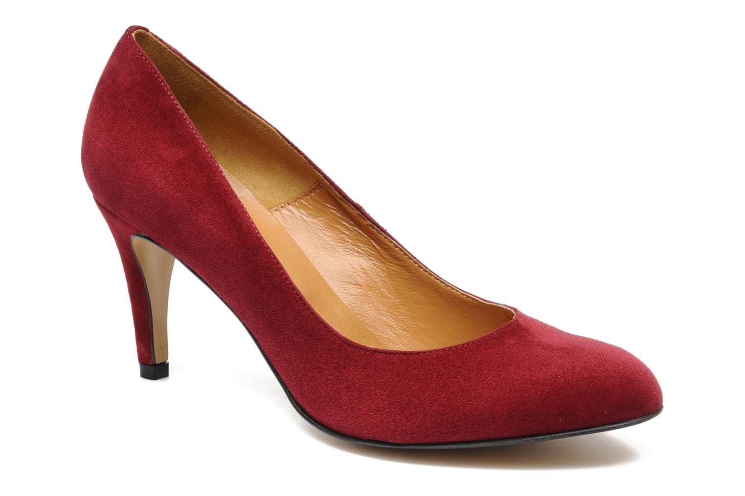Chaussures à lacets GEORGIA ROSE cuir rouge 37 hUF3xKbm