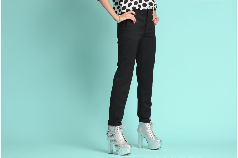 Stiefeletten & Boots Jeffrey Campbell Lita Jewel silber ansicht von unten / tasche getragen