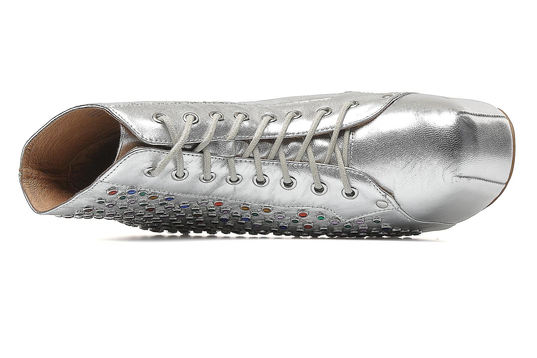 Stiefeletten & Boots Jeffrey Campbell Lita Jewel silber ansicht von links