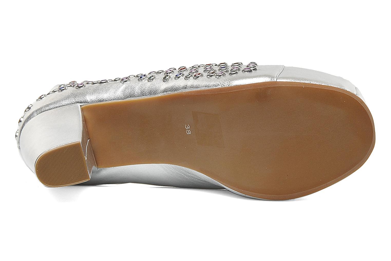Stiefeletten & Boots Jeffrey Campbell Lita Jewel silber ansicht von oben