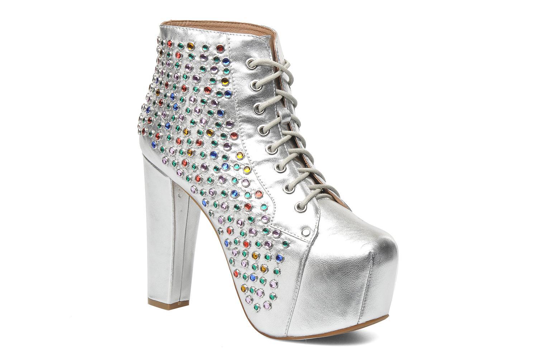 Stiefeletten & Boots Jeffrey Campbell Lita Jewel silber detaillierte ansicht/modell