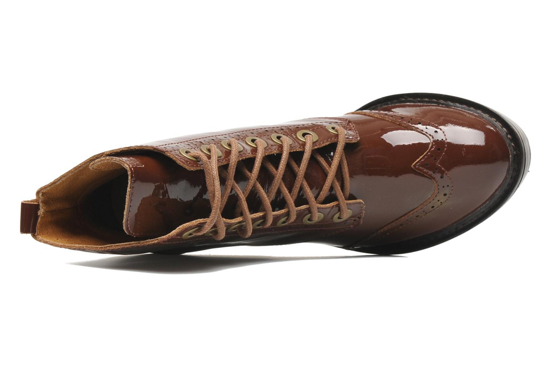 Stiefeletten & Boots Jeffrey Campbell Forks braun ansicht von links