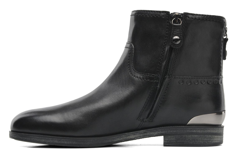 Stiefeletten & Boots Geox D DALYA B D44G4B schwarz ansicht von vorne