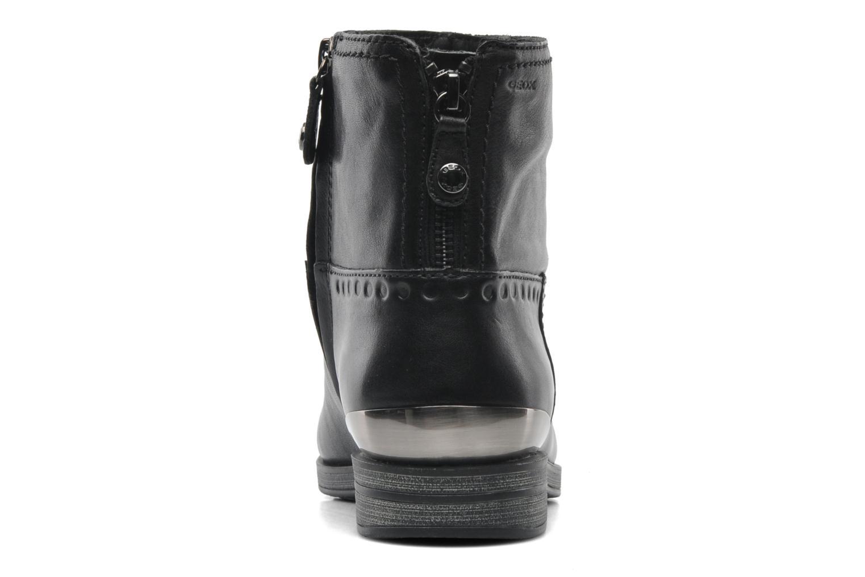 Stiefeletten & Boots Geox D DALYA B D44G4B schwarz ansicht von rechts