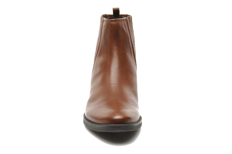 Stiefeletten & Boots Geox D MENDI ST J D3490J braun schuhe getragen
