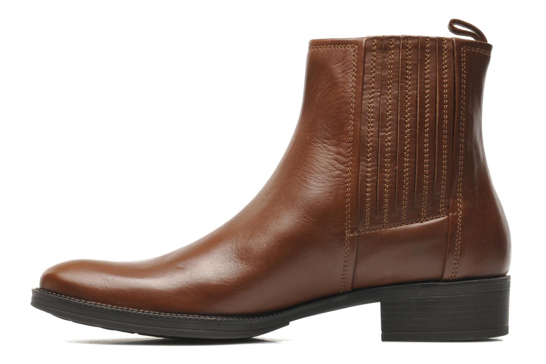 Stiefeletten & Boots Geox D MENDI ST J D3490J braun ansicht von vorne
