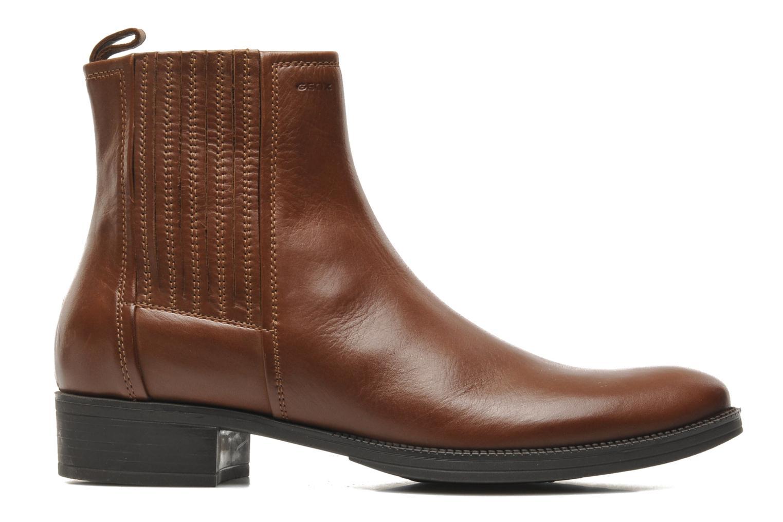 Stiefeletten & Boots Geox D MENDI ST J D3490J braun ansicht von hinten