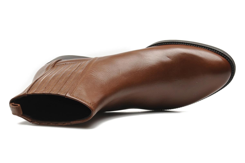 Stiefeletten & Boots Geox D MENDI ST J D3490J braun ansicht von links