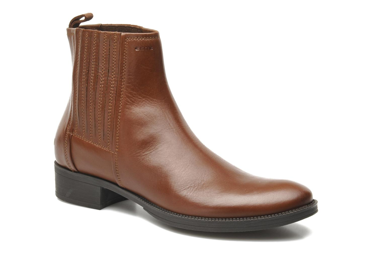 Stiefeletten & Boots Geox D MENDI ST J D3490J braun detaillierte ansicht/modell