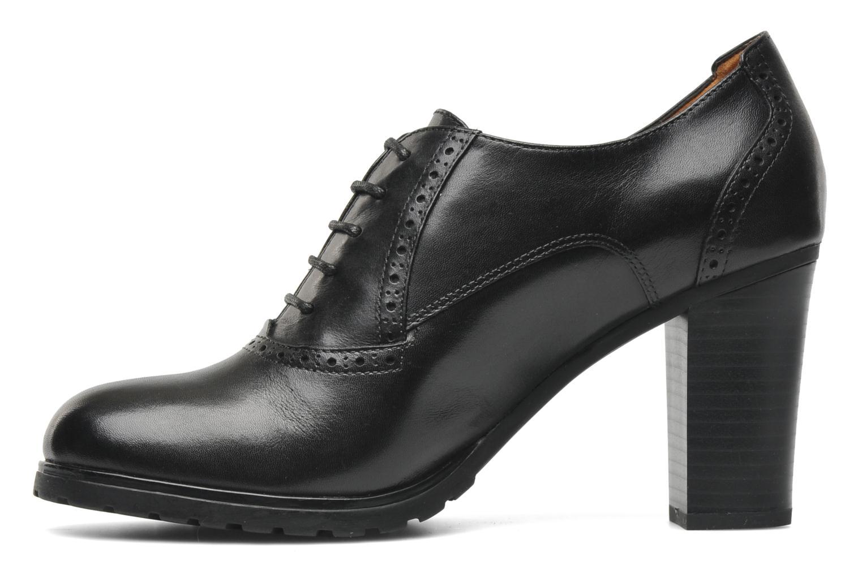 Chaussures à lacets Geox D TRISH ABX Q Noir vue face
