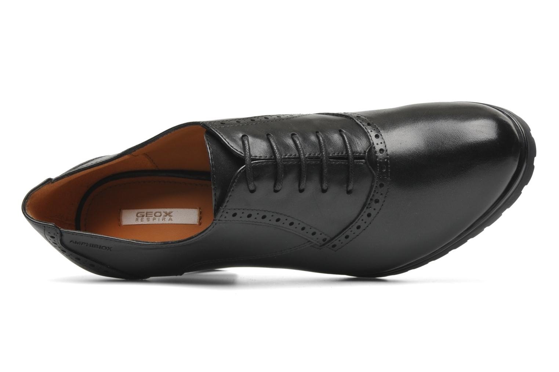 Chaussures à lacets Geox D TRISH ABX Q Noir vue gauche