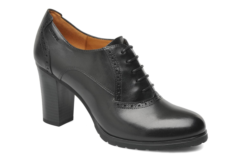 Chaussures à lacets Geox D TRISH ABX Q Noir vue détail/paire