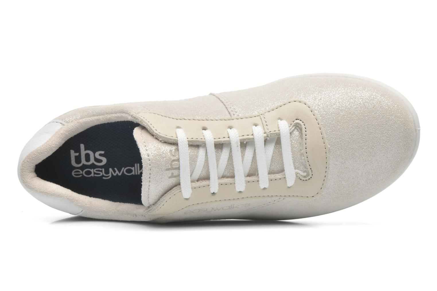 Trainers TBS Easy Walk Anyway White view from the left