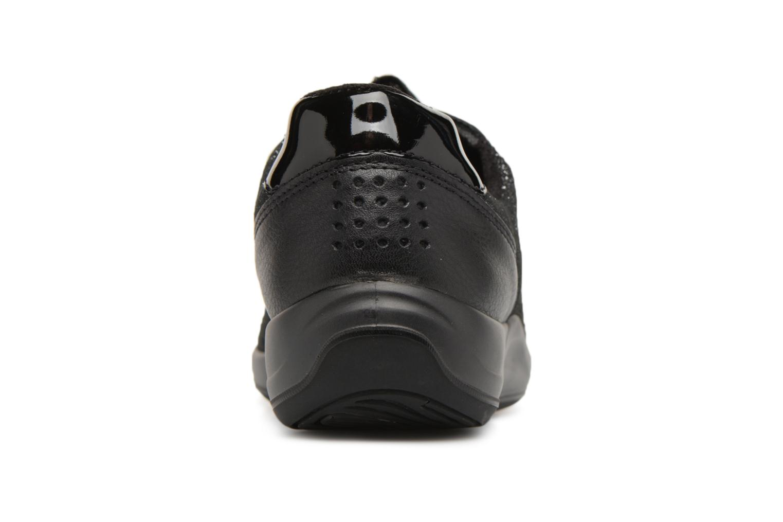 Sneaker TBS Easy Walk Anyway schwarz ansicht von rechts