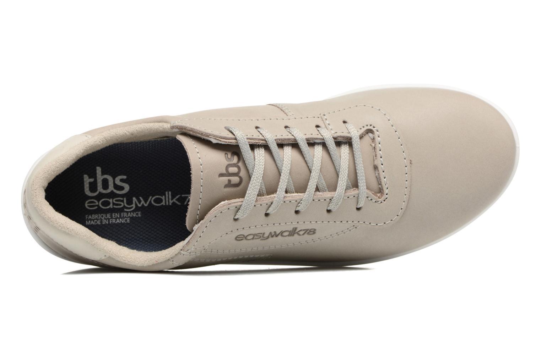 Baskets TBS Easy Walk Anyway Blanc vue gauche