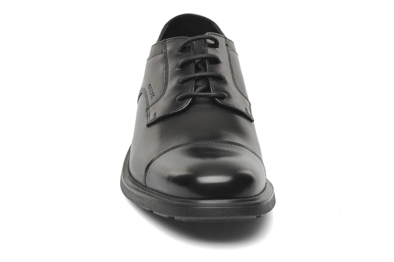 Lace-up shoes Geox U DUBLIN C U34R2C Black model view