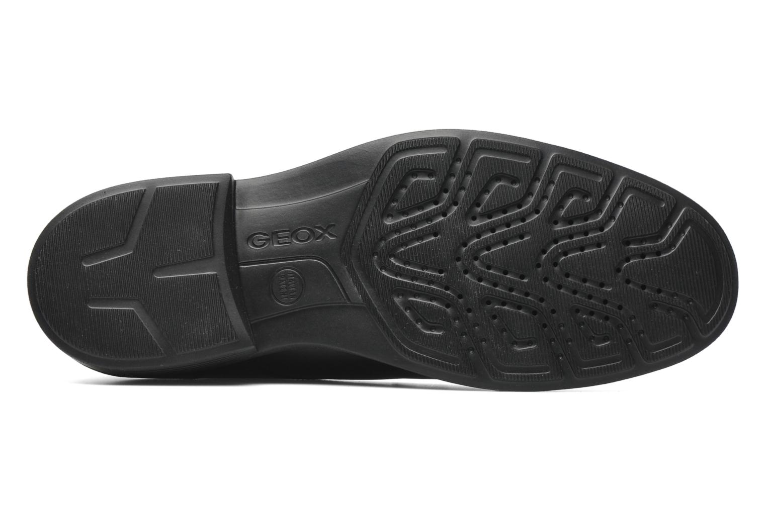 Lace-up shoes Geox U DUBLIN C U34R2C Black view from above