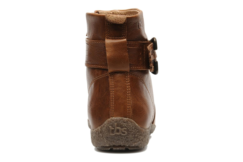 Boots en enkellaarsjes TBS Kathia Bruin rechts