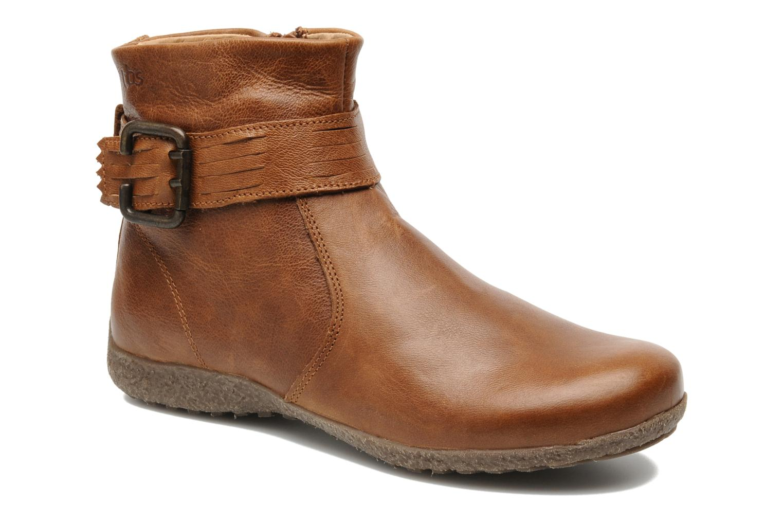 Boots en enkellaarsjes TBS Kathia Bruin detail