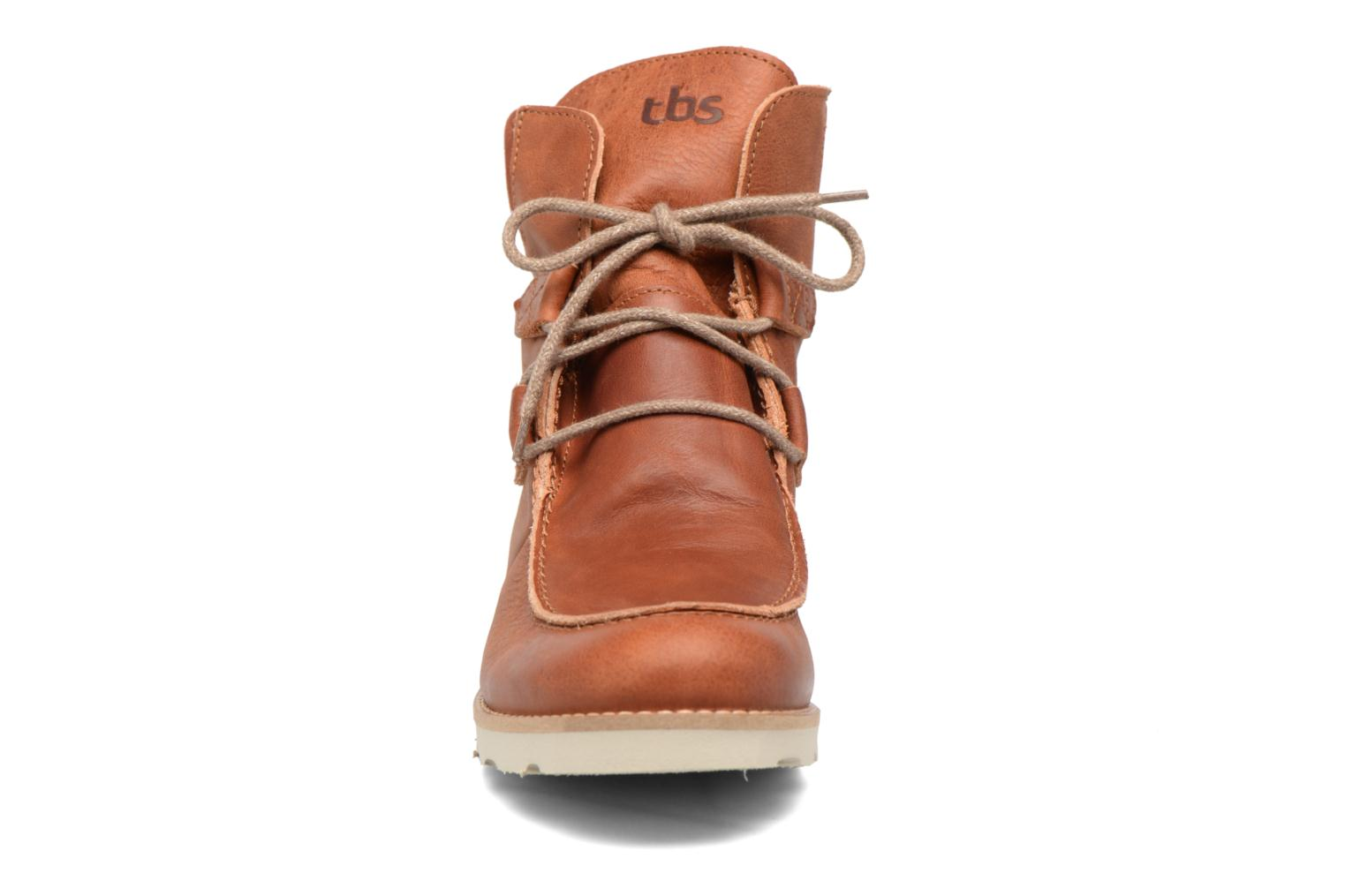 Ankle boots TBS Ariana Brown model view