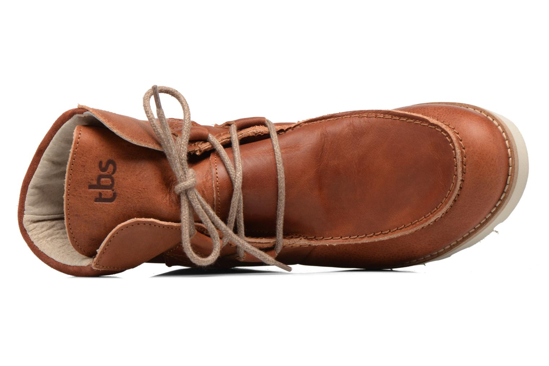 Bottines et boots TBS Ariana Marron vue gauche
