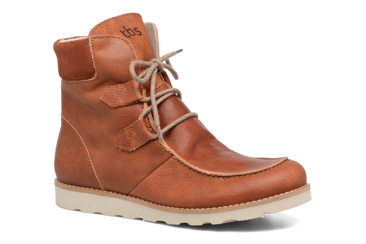 Ankle boots TBS Ariana Brown detailed view/ Pair view