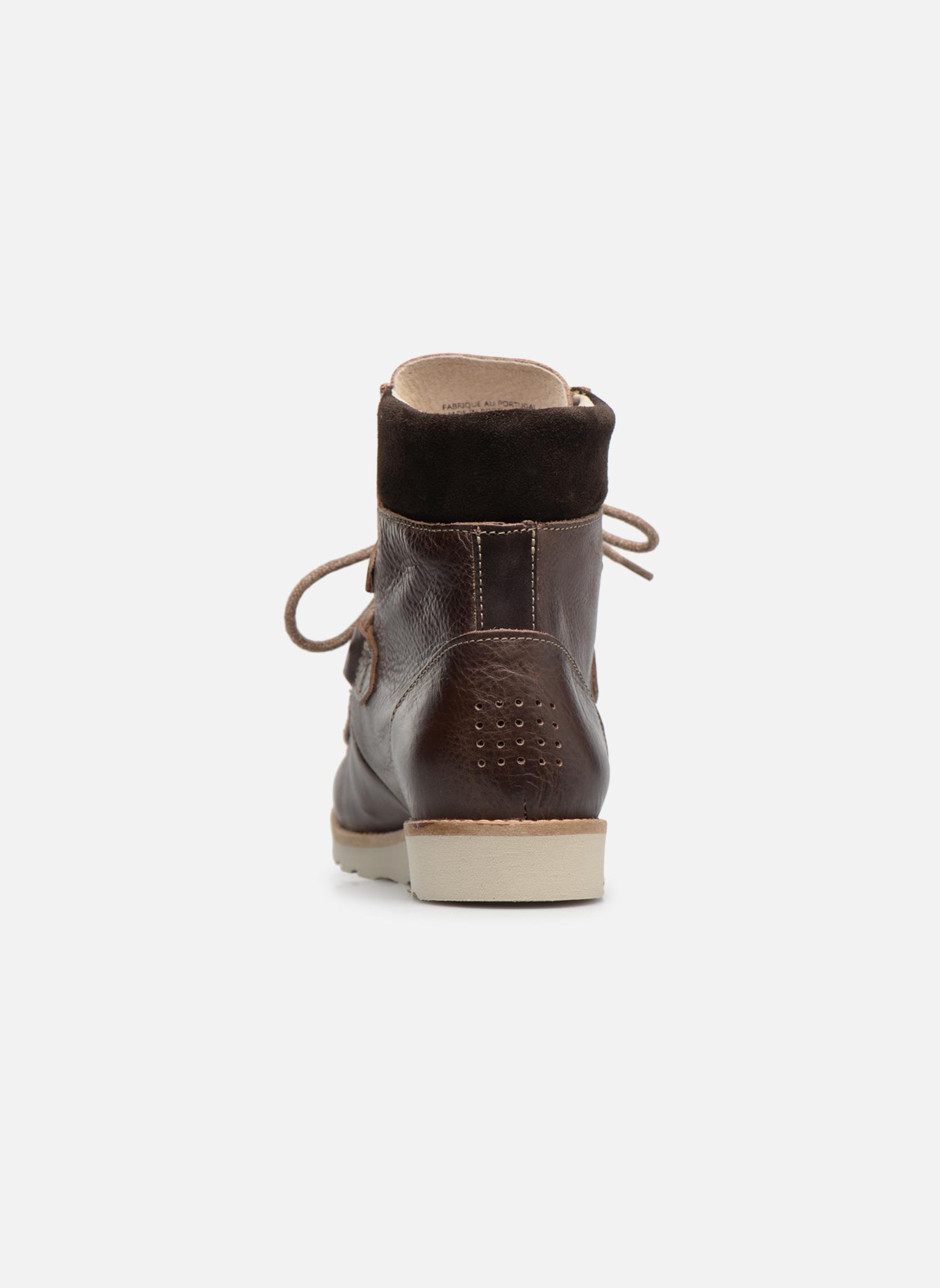 Bottines et boots TBS Ariana Marron vue droite