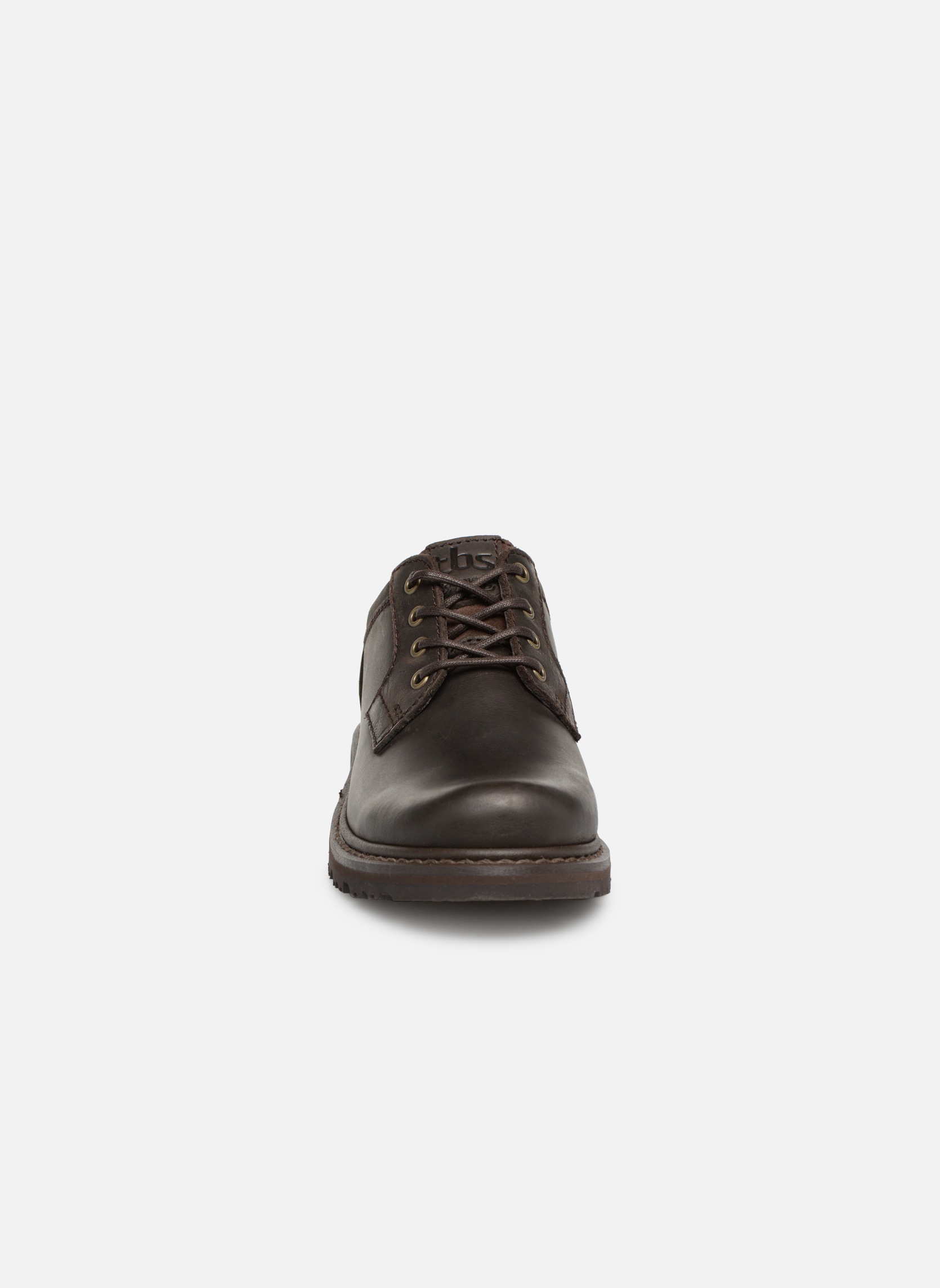 Chaussures à lacets TBS Stuart Marron vue portées chaussures