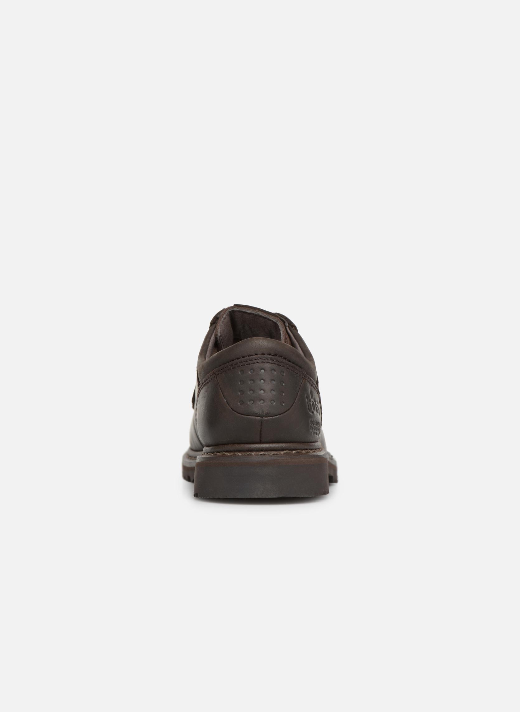 Chaussures à lacets TBS Stuart Marron vue droite