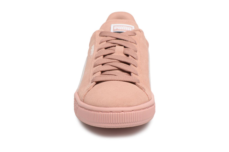 Baskets Puma Suede Classic Wn's Rose vue portées chaussures