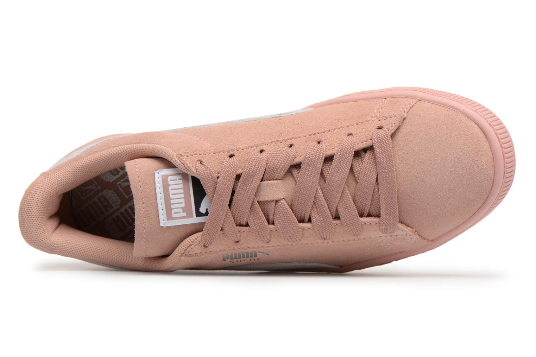 Baskets Puma Suede Classic Wn's Rose vue gauche