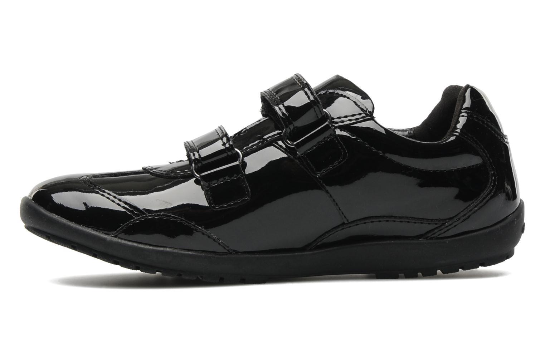 Sneaker Geox J BON BON D schwarz ansicht von vorne