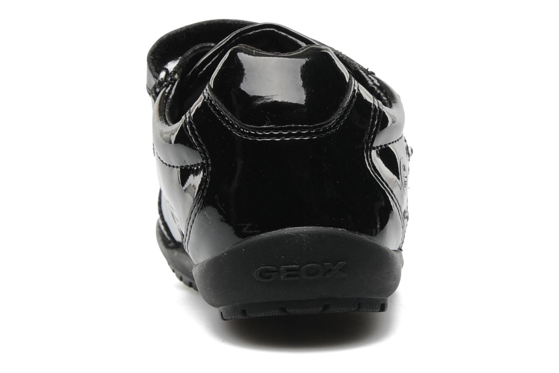 Sneaker Geox J BON BON D schwarz ansicht von rechts
