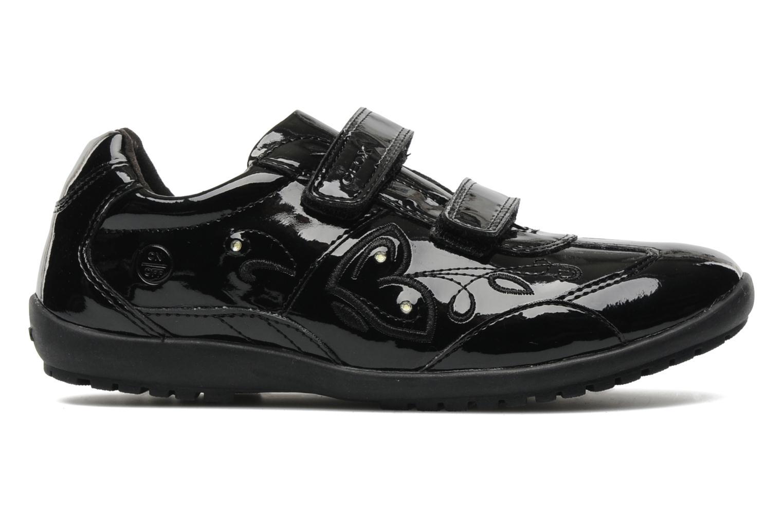 Sneaker Geox J BON BON D schwarz ansicht von hinten