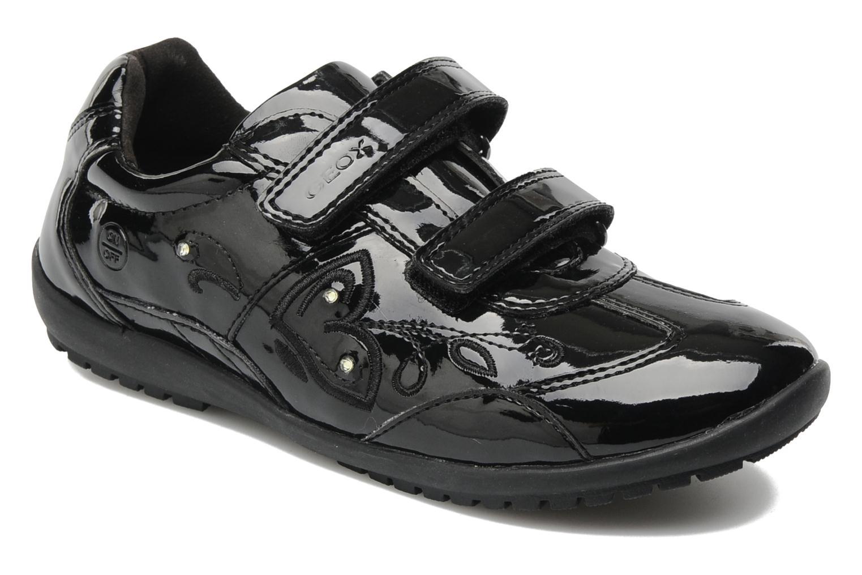Sneaker Geox J BON BON D schwarz detaillierte ansicht/modell