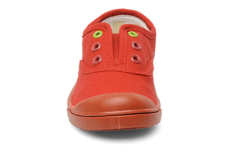 Sneaker Little Marcel Benistic Mono rot schuhe getragen