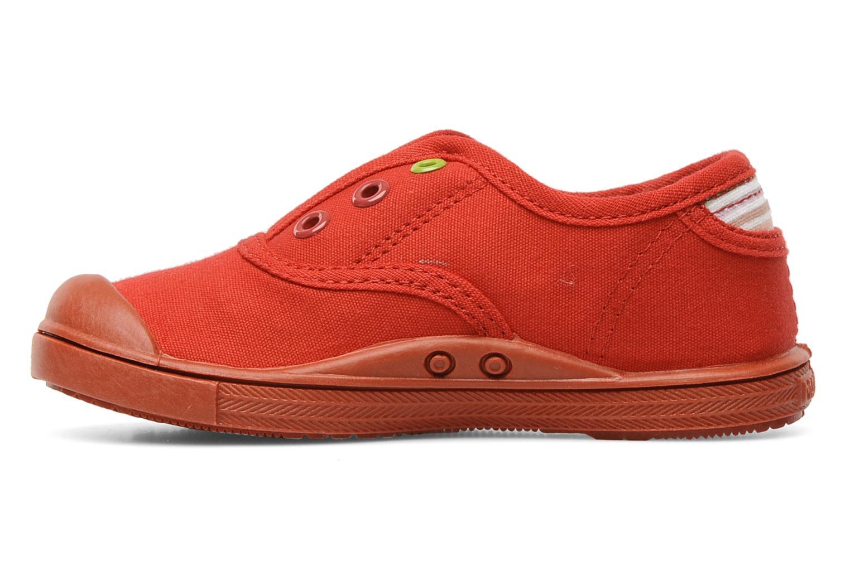 Sneaker Little Marcel Benistic Mono rot ansicht von vorne
