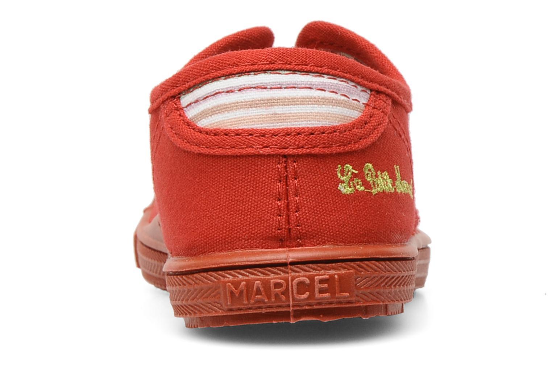 Sneaker Little Marcel Benistic Mono rot ansicht von rechts