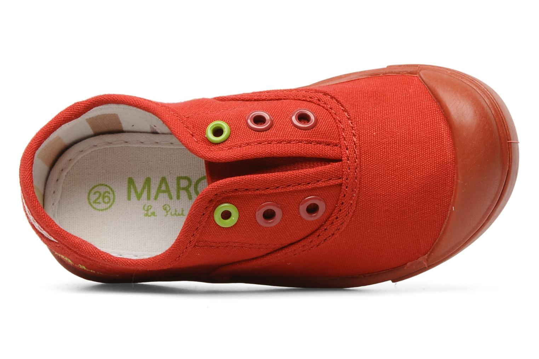 Sneaker Little Marcel Benistic Mono rot ansicht von links