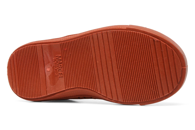 Sneaker Little Marcel Benistic Mono rot ansicht von oben