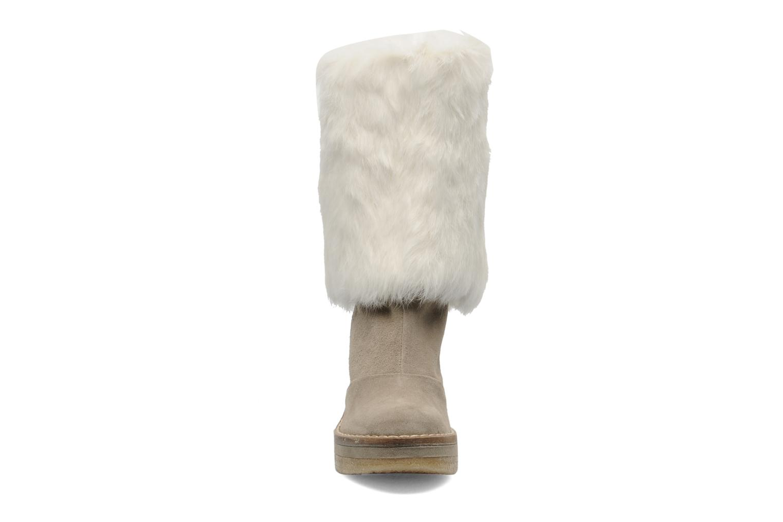 Bottines et boots Serafini Etoile Miranda Go Blanc vue portées chaussures