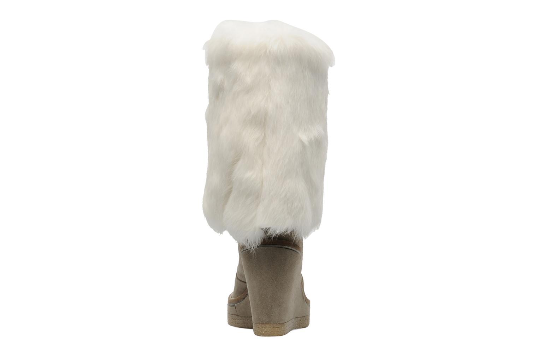 Bottines et boots Serafini Etoile Miranda Go Blanc vue droite