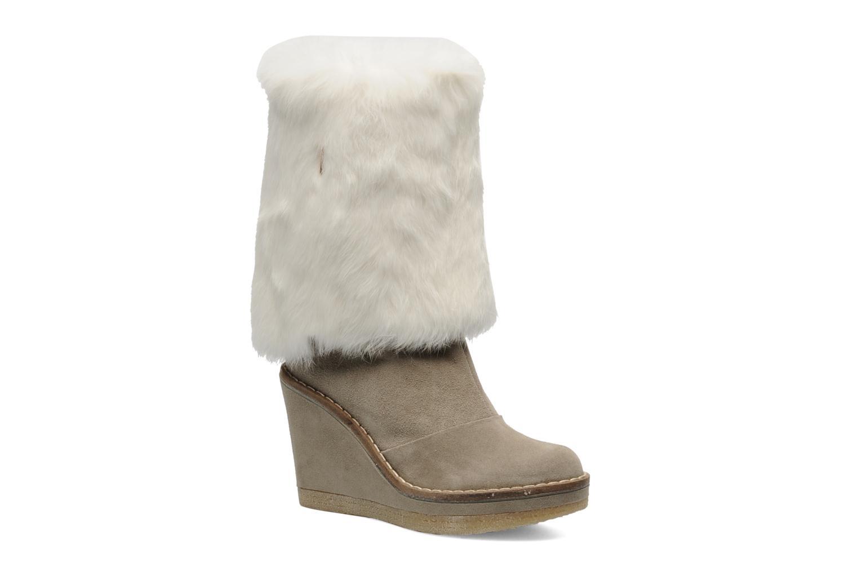 Ankelstøvler Serafini Etoile Miranda Go Hvid detaljeret billede af skoene
